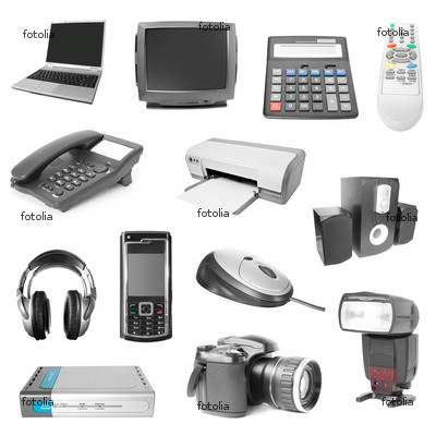 Electronic devices, phones, laptops, cameras, printers, headphones