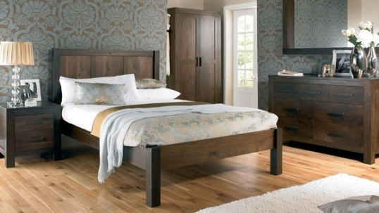 Gorgeous bedroom from Lyon Walnut Furniture