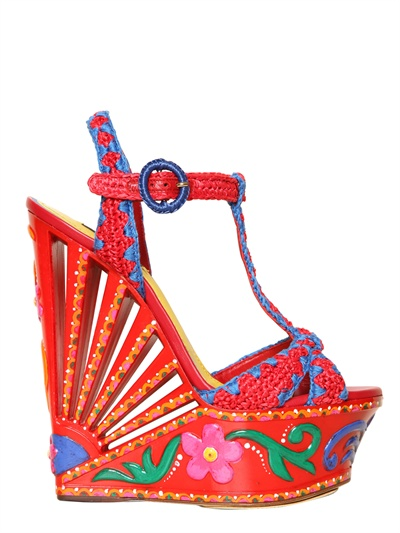 Beautiful embroidered heels